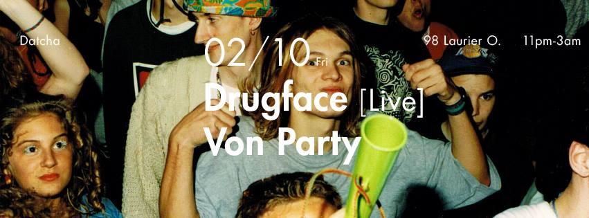 Drugface Live